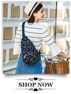 Findpop Mode Casual Sac À Dos Femmes 2018 Nouveau Étanche Mini Sac À Dos Pour Femmes Toile Floral Imprimé Petit Sac À Dos Pour Filles 27