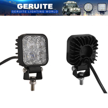 2pcs LED Spotlights 900LM Mini 6 Inch 12W 4Leds Car IP65 LED Light Bar As Worklight Spotlight Spot Light For Boating Fishing SUV(China)