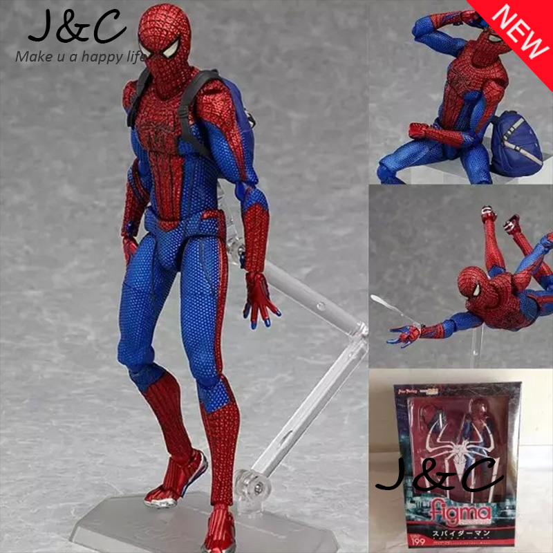 2017 New Hot sell 15cm Spider-Man PVC Action Figure Toys Dolls Spider Man Model Collection Gift Free Shipping<br><br>Aliexpress