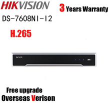 Hikvision DS-7608NI-I2 H.265 12MP 8CH NVR with 12 Megapixel 2 SATA Interface Network Video Recorder