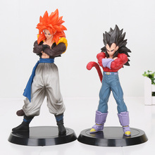 18-20cm Anime Dragon Ball GT Super Saiyan Son Goku Vegeta Gogeta PVC Figure Collection Model Toy Doll Gifts Dragon Ball Z