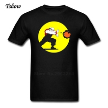 Super Plumber Man T Shirt Casual Summer Print Round Neck Short Sleeve Male Costume Pure Cotton Funny Picture T-shirt men's Shirt
