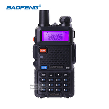 Portable BaoFeng UV5R Mobile Radio 5W Dual Band VHF/UHF136-174Mhz&400-520Mhz CB Radio Communicator Walkie Talkie HF Transceiver