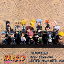 Naruto Uzumaki 21 Pieces Action Figures 1/14 scale painted figure Haruno Sakura Dolls PVC ACGN Toys Anime - Luckydog-Peter store