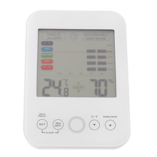 LCD Digital Indoor Thermo-hygrometer Thermometer Hygrometer Temperature Humidity Measurement with Mold Alert Comfort Level