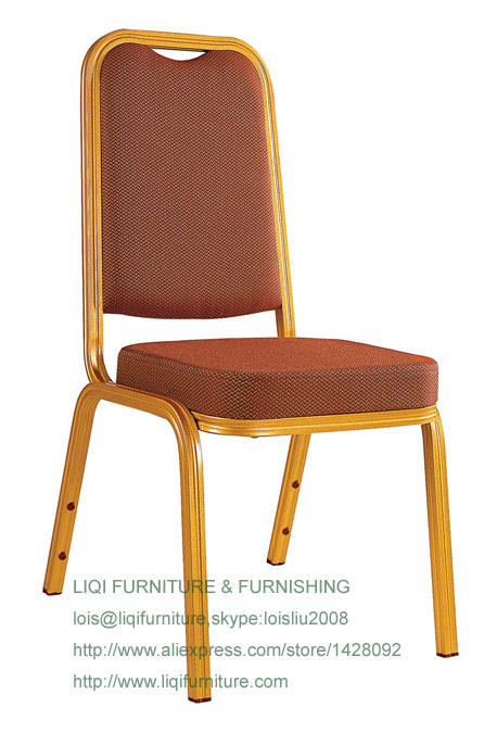 wholesale quality strong modern aluminum stacking hotel banquet chairs LQ-L211<br>