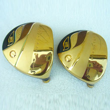 New Original Golf heads GIII Golf Fairway Wood head 3/15 5/18 Gold color or Silver Wood head no Golf shaft Free shipping