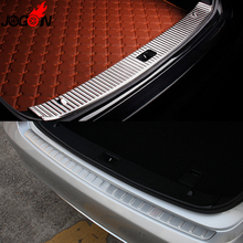 Interior & Exterior Rear Trunk Bumper Sill Plate Cover Trim For Mercedes Benz E Class W212 E200 E250 E300 E350 E400 2010- 2015