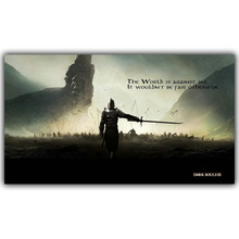 Dark Souls 1 2 3 Art Silk Cloth Posters Canvas Print 12x21 20x35 24X42 inch New Game Image for The Home Decoration Wall YX1141