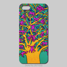 Keith Haring Cover Case For iPhone 5 5S 5C 4S 6 6S Plus iPod Touch 5 4 For Samsung Galaxy S2 S3 S4 S5 Mini S6 S7 Edge Note 3 4 5