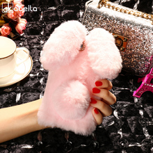Buy AKABEILA Silicon Case Doogee X5 Cases Rabbit Hair Bling Diamond Doogee X5 Pro X5S Soft TPU Cute Anti-knock Cover for $5.80 in AliExpress store