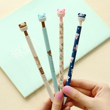 New Sweet Bear design Mechanical Pencils/easy to use/funny gift/office school supplies