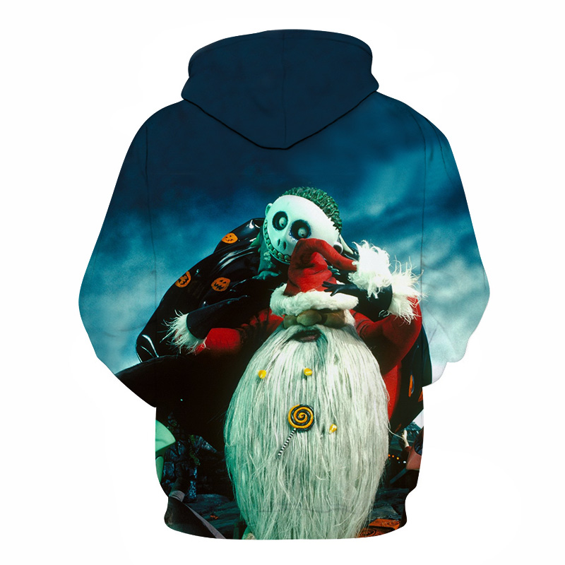 03e6f2133248 3d-hoodie Christmas and Halloween skull jack-themed pullovers are designed  for men and women wearing casual plus-size jerseys