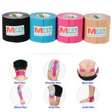 Cotton Elastic Adhesive Muscle Bandage 3m*5cm Muscle Tape Kinesiology Tape Sports Tape Roll Care Physio Strain Injury Support