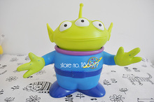 Super Cute Toy Story Alien Plastic Figure Toy In Stock Lovely Desk Decorations Children Birthday Christmas Gift(China)