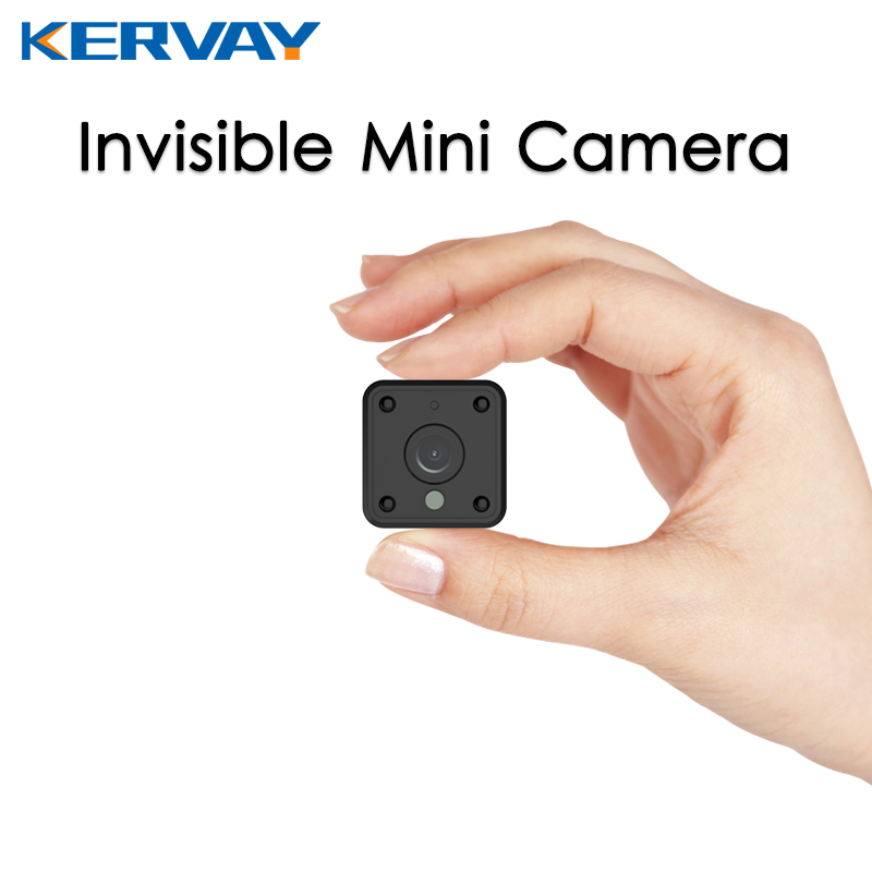Kervay MINI 720P WIFI indoor ip camera night vision APP remote control Camcorder Built-in Battery motion detection alarming <br>