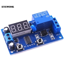 5PCS New Arrival Delay Time Module Multifunction Switch Control Relay Cycle Delay Timer Module DC 12v-time-delay-relay Module(China)