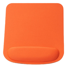 Rectangle Wrist Support Cloth + EVA Mouse Pad Mice Mat For Compute orange 210*230*20mm(China)