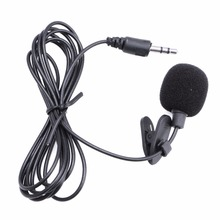 Mini Hands Free Clip On Lapel Microphone Mic For PC Notebook Laptop Skype 3.5mm