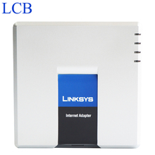 Unlocked Linksys PAP2T PAP2T-NA VOIP Phone Adapter 2 FXS phone ports +5.1.6(LS)Firmware Version without Retail Box Drop Shipping