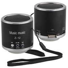Mini Portable Rechargeable Audio Speaker Radio for MP3 MP4