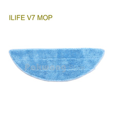 Original ILIFE V7 Mop Cloths 1 pc, Robot Vacuum Cleaner Mop supply from factory