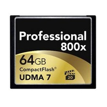 High Speed Professional Memory Card Professional 800X New Arrival 16G 32G 64G 128G Compact Flash Memory Card 800X