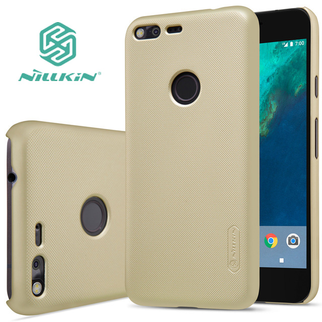 Google Pixel XL Case Nillkin Frosted Shield PC Back Cover LG XL/Nexus M1 5.5 inch + Screen Protector  -  elawen baba's store store