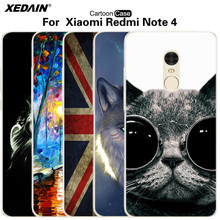 Buy XEDAIN xiaomi Redmi note4 Cases cover Cellphone Redmi Note 4 fundas smartphone xiomi xiami xaomi hongmi note4 Soft TPU Case for $2.94 in AliExpress store