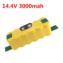 3000mAh High Quality New Battery Pack for iRobotRoomba 560 530 510 562 550 570 500 581 610 770 760 780 790 880 Battery Robotics