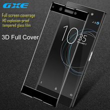 GXE For Sony Xperia XA1 3D Full Screen Coverage Tempered Glass For Sony Xperia XA1 Screen Protector Full Covered Protective Film