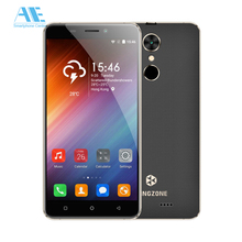 Original Kingzone S3 5.0 inch Android 6.0 MT6580A Quad Core Cell Phone 1G RAM 16GB ROM Smartphone fringprint 3G Mobile Phone(China)