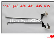 Free shipping genuine new original laptop hinges for HP CQ43 G43 430 431 435 436 notebook hinge 1A01M8S00G 1A01M8Q00H