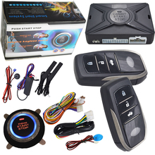rfid car alarm system is with smart key support bypass output for original car chip key immobilizer signal(China)