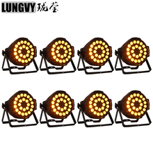 Free Shipping (8pcs/Lot) Cheap China Led Par Cans 24x18w RGBAW+UV 6in1 Led Par 64 Light Indoor Par Can Light Led Par Light