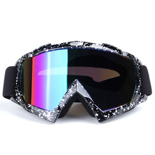9 Colors Men Women Ski Goggles UV 400 Anti-Fog Ski Eyewear Winter Snowboard Glasses Skiing Goggles Snowboarding Glasses(China)