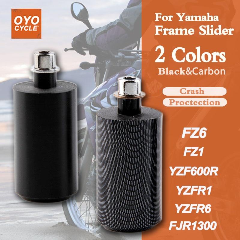 CNC Frame Slider Guard Anti Crash Pad Protector For Yamaha FZ6 S2 FZ6 Fazer S2