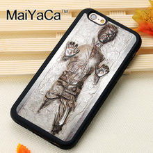 MaiYaCa Han Solo Carbonite Star Wars For iPhone 6 6S Coque 360 Full Protection Soft TPU Back Cover For iPhone 6/6s Phone Cases(China)