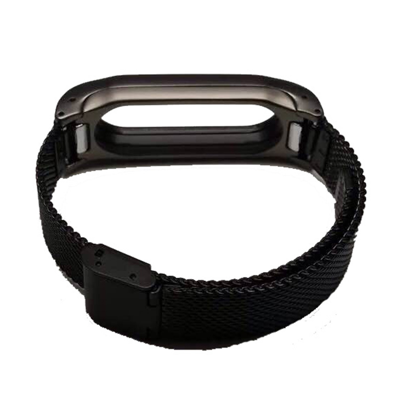 Stainless Steel Replacement Strap For Xiaomi Mi Band 2 Smart Accessories for mi band 2 Strap Smart Band Wrist belt for Miband 2 8
