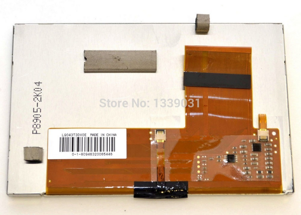 4.3 inch LQ043T3DX0E LCD display+touch screen for TOMTOM GO 530, 630,730<br>