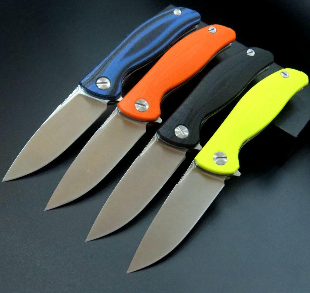 Efeng F3 Camping Folding Knife D2 Blade G10 Handle Pocket Tactical Knife Flipper Outdoor  Knives+ Black model<br><br>Aliexpress