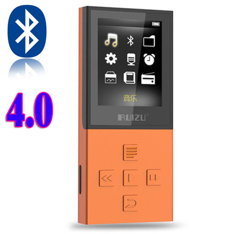 New Original RUIZU X18 Bluetooth Sport MP3 Player with 8G can playing130 Hours high quality lossless Recorder FM Bluetooth 4.0(China (Mainland))