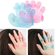 5Pcs Body Head Hair Massage Comb Brush Bath Shampoo Scalp Massage Brush Soft Silicone Head Massager Relaxation Tools Health Care