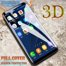 Luxury 3D Screen Protector For Samsung Galaxy S8 HD Curved Full Cover Protective Film For Samsung S6 S7 Edge S8 Plus (Not Glass)(China)