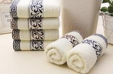 34*74cm 3pcs Embroidered Cotton Terry Hand Towels Set,Home Decorative Cheap Quality Face Bathroom Hand Towels Set,