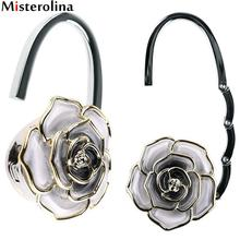Rose Foldable Handbag Hook Holder Purse Tote Bag Table Hanger Hook Umbrella Hanging Holder Handbag Hook L09989