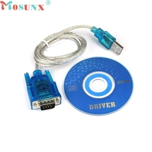 mosunx Mecall USB RS232 Adapter USB COM USB TO RS232 DB9 Serial COM Convertor Adapter Support PLC