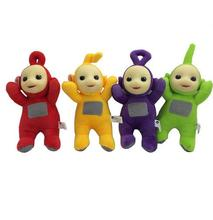 4pcs/lot 22cm Cute Teletubbies Plush Toy Stuffed Doll Super Quality Christmas Gift For Children(China)