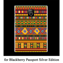Promotion 25 Design Plastic Hard Back Case Handmade DIY Custom Phone Cover Ultra-thin Bag for Blackberry Passport Silver Edition