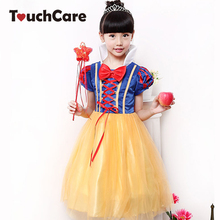 Snow White Princess Girls Dress Baby Girls Clothes Cosplay Masquerade Dress Fancy Costume Christmas Baby Girls fantasia Vestido